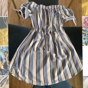 Blush Blue/White dress